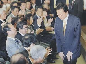 2010年6月2日,日本首相鸠山由纪夫在日本国会大厦正式宣布辞职.