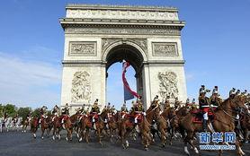 香榭丽舍大街举行盛大阅兵仪式以庆祝国庆