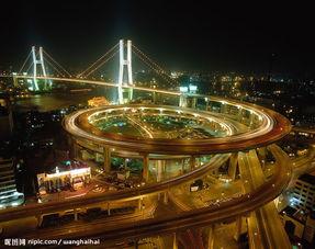 北京风景,城市夜景图片