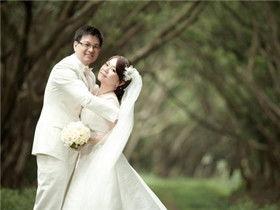 胖人拍婚纱照注意事项