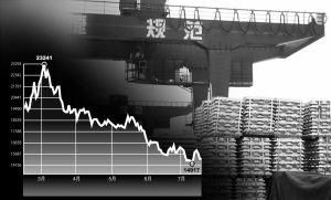 上海期锌今年以来价格走势