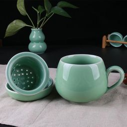 描述茶杯的句子