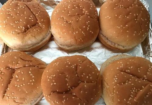 汉堡胚怎么用烤箱加热