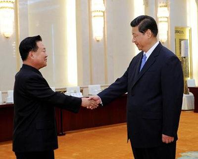 朝鲜劳动党第一书记金正恩特使、朝鲜劳动党中央政治局常委崔龙海.