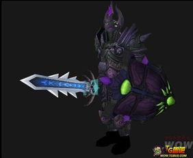 魔兽4.3 板甲 幻化 邪恶 堕落 的圣光骑士 wow魔