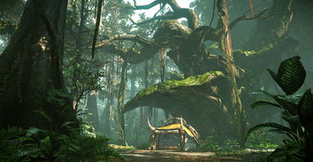怪物猎人OL 晓风山谷隐士之森4