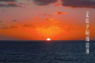 与海有关的小清新诗句