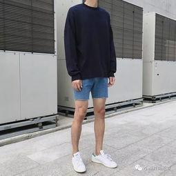 胸下全是腿 挑战男士短裤极限,夏日三分裤搭配推荐