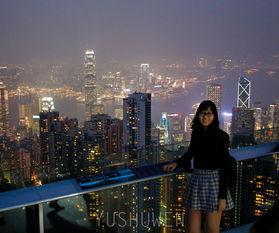 俯瞰维多利亚港的最佳地点 香港太平山顶