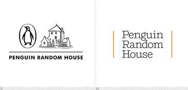 企鹅兰登书屋 Penguin Random House 启用新LOGO