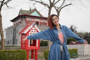 Selina春游金门初体验 自喻是 贞节牌坊