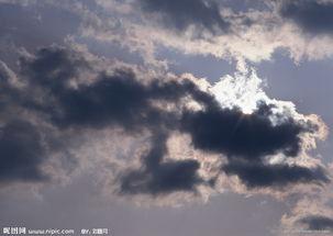 天空 乌云 背景图片