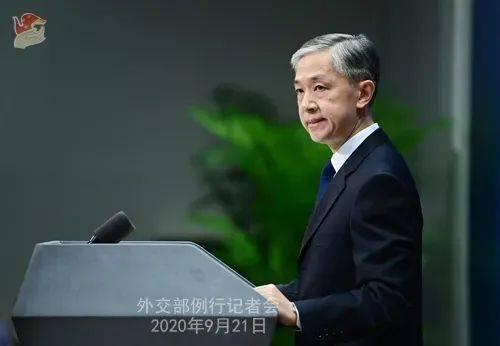 外交部发言人汪文斌(图片来源:外交部官网)