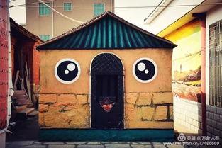 厦门惊现一个涂鸦村,看醉了 99 的厦门人不知道