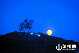 成功 远眺明月 遥寄两岸团圆