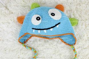 妈妈为宝宝钩针编织帽子系列款