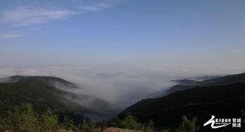 晋城大雨过后现 云海 景观