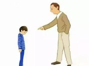 父亲教育儿子严厉