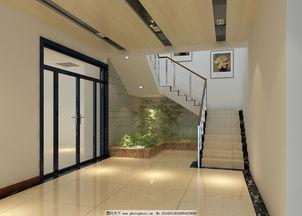 楼梯设计-景观厅