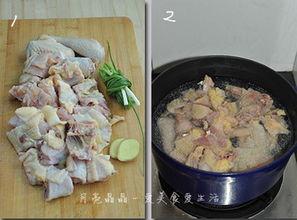 蘑菇山药炖鸡汤的做法大全家常