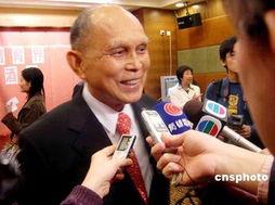 全国政协副主席霍英东病逝胡锦涛等曾探访