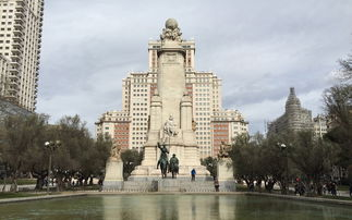 马德里地标建筑西班牙大厦