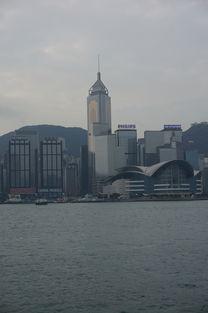 在香港星光大道拍摄