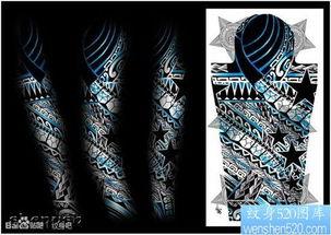 纹身图案水晶甲教程