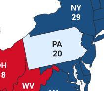 据福克斯新闻最新统计数据,特朗普目前获得214张选举人票,拜登则获得264张选举人票.