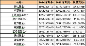 基金公司排行榜前十名(全国基金排名前十名)  股票配资平台  第3张