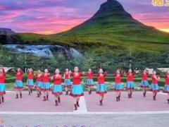 美丽的蒙古包中油广场舞