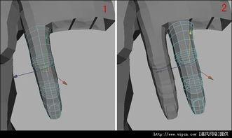 Maya高模全身布线细致流程