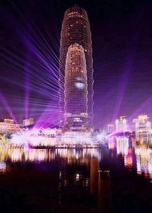 大美郑州跨年灯光秀