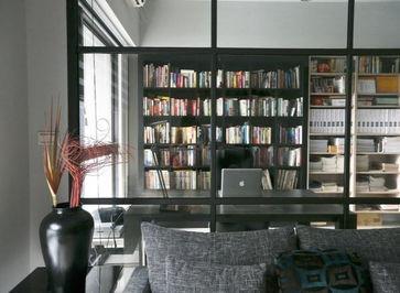 装修设计 书香满屋 66平新中式两居