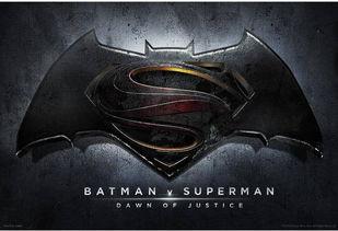 蝙蝠侠大战超人 官方logo曝光 定名 正义黎明 -索星壁纸