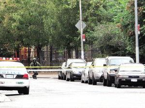 纽约华埠现诈弹惊魂警方如临大敌拆弹专家到场