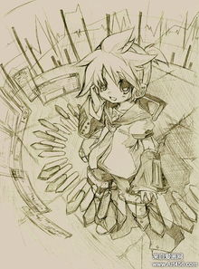 漫画素描手工介绍【只要你要想象力】