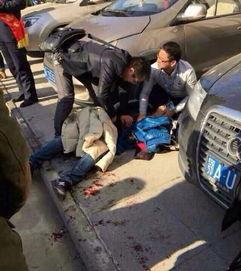 武汉一银行门前女子持刀捅人 已被警方控制 新闻中心