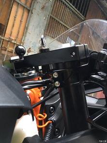 实用KTM RC390 改装降低手把