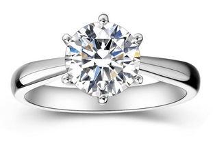 3克拉结婚钻戒多少钱