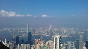 太平山顶俯视香港 香港4日自由行 机票 酒店自助游