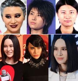 尚雯婕Angelababy李小璐 娱乐圈9大 整容女 假脸看醉了