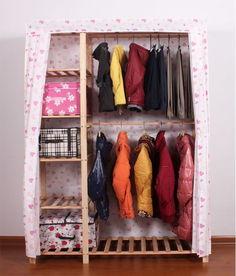 简易衣柜螺丝组装