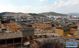 云南香格里拉独克宗古城恢复重建有序进行