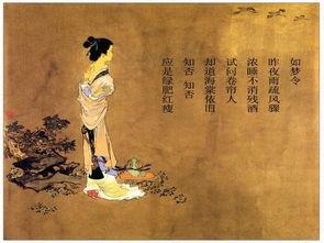 李清照关于初冬的诗句