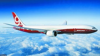 资料图:波音7779x飞机