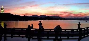 游杭州西湖好词好句