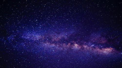 唯美浩瀚星空图片电脑壁纸启颜录启颜录