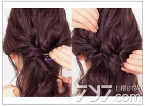 半扎头发的方法图解,半扎头发的方法100种,半扎头发好看的步骤图
