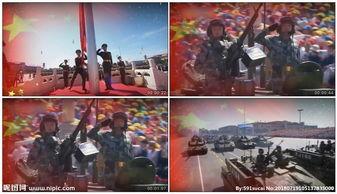 强军战歌军队led背景视频